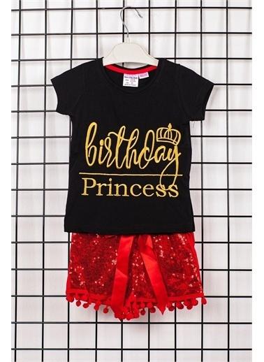 Dk Birth Day Princess Kız Çocuk Alt Üst Takım Altın